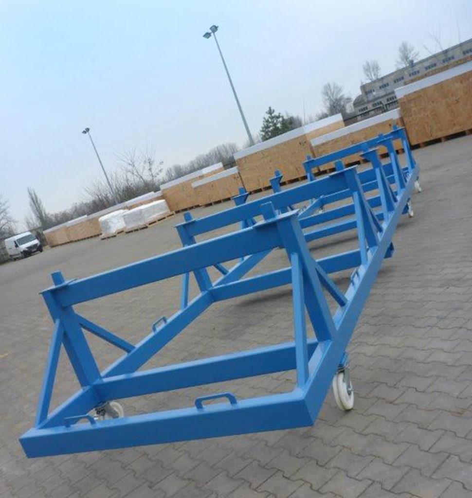 platformy transportowe i wózki platformowe