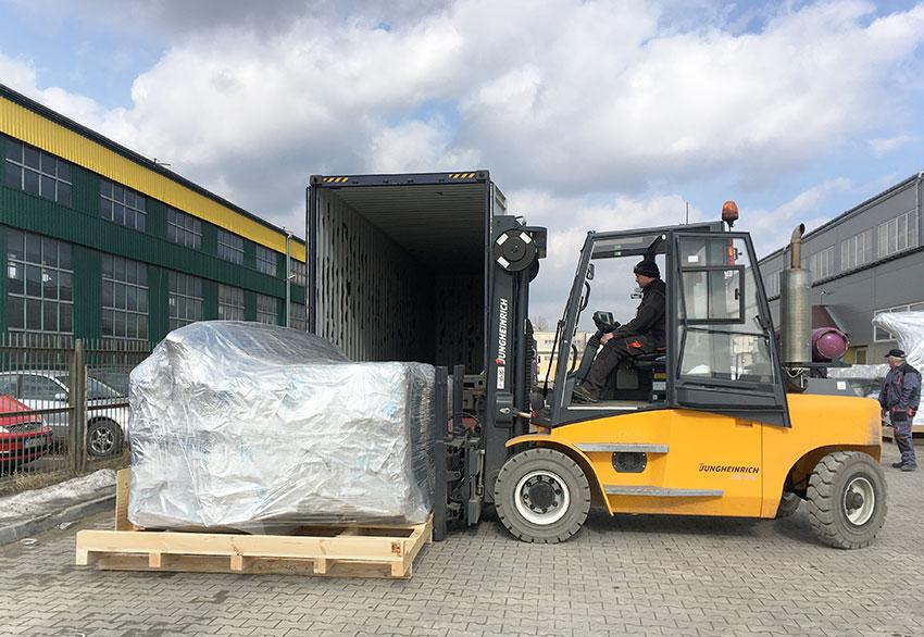 Pakowanie do transportu morskiego